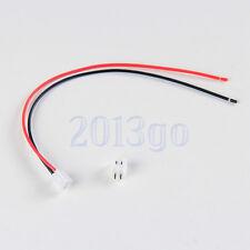 JST XH 2.5 mm 2 broches Connecteur avec du fil 150 X 10 ensembles HG