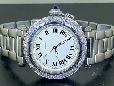 Cartier Pasha 4020 Automatic Diamond Watch