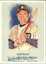 2010 Topps Allen and Ginter Baseball #197 Johnny Damon Detroit Tigers