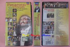 VHS PAVAROTTI & FRIENDS For children of liberia BON JOVI SIGILLATA cd lp (VM11)