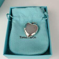 Tiffany & Co Silver Heart Locket Charm