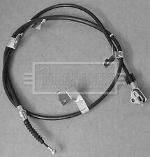 Handbrake Cable fits TOYOTA AURIS ZRE151 1.6 Left 07 to 12 1ZR-FE Hand Brake B&B