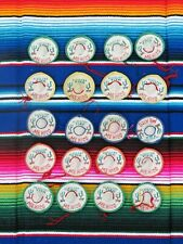 Mexican Fiesta Confetti Hat Decoration 20 pack Assorted Colors