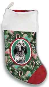 English Setter Christmas Stocking