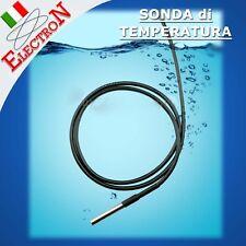 Sonda di temperatura con sensore DS18B20 waterproof + cavo di 1 metro Arduino