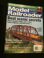 Model Railroader Magazine December 2017 Best scenic secrets
