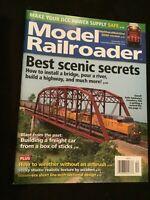 Model Railroader Magazine December 2017 Best scenic secrets