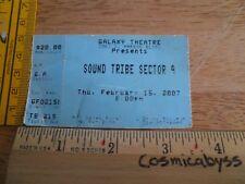 STS9 Sound Tribe Sector 9 Galaxy Theater Santa Ana 2007 Konzert Ticket Original