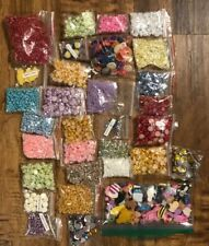 Large Lot Of Cabochon ~ Beading, Jewelry Making, Crafts, Heart, Rose, Owl, Star