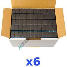 6 x 6KG 36KG Nero Pesi Equilibratura 12x5g Adesivi 200 Bullone Striscia