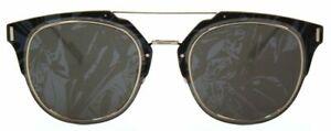 Dior Homme Herren Sonnenbrille Diorcomposit1.F 010NY 65mm gemustert Metall D4  1