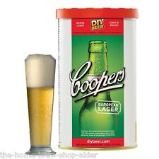 Kit de Europea De Cerveza Lager Coopers-Home Brew-Cerveza de decisiones-homebrewing