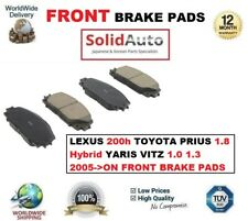 FOR LEXUS CT 200h TOYOTA PRIUS 1.8 Hyb YARIS VITZ 1.0 1.3 2005> FRONT BRAKE PADS