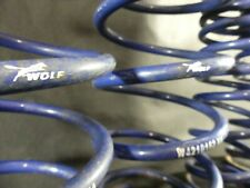 Blue Lowering springs WOLF FORD MOTORSPORT Focus ST RS 98-04 All models 25-40mm