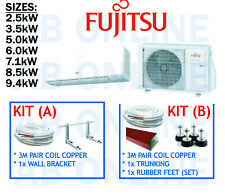 FUJITSU SPLIT SYSTEM INVERTER REVERSE CYCLE AIR CONDITIONING BRACKET AIRCON