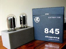 Tested Shuguang 845 metal plate Tubes for Cary RCA WE Western 300B 211 amplifier