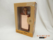 REFINERY & CO. COPPER FLASK-VINTAGE CORK CLOSURE-UNOPENED IN ORIGINAL BOX-AS IS!