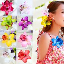 2Pcs Femmes Bohême Fleur Bandeau Pince à cheveux Accessoires pour cheveux