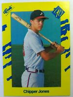 1990 90 Classic Baseball Chipper Jones RC Rookie #T92, Braves HOF