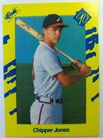 1990 90 Classic Baseball Chipper Jones RC Rookie #T92, Braves HOF