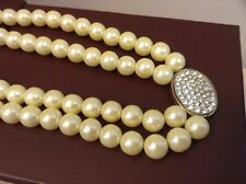 President's Recognition Pearlesque Necklace 2005 PC, Avon