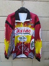 Veste cycliste CASINO AG2R 1998 NALINI jacket giacca jacke COLNAGO PEUGEOT 5 XL