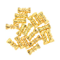 GOLD 50PCS BARREL SCREW CLASP WITH HOOK LOOP FOR CHAIN JEWELLERY MAKING VA228GG