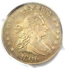 1806 Draped Bust Quarter 25C Coin - NGC PCGS Detail (EF) - $3,250 Value in XF40!
