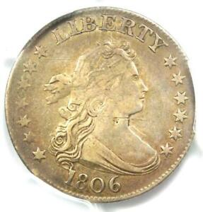 1806 Draped Bust Quarter 25C Coin - PCGS XF Detail (EF) - $3,250 Value in XF40!