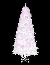 150 Artificiale Fairytail bianco albero di Natale con supporto di metallo Decorazioni di Natale
