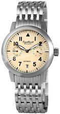 Engelhardt Herrenuhr Beige Chronograph Datum Edelstahl Automatik X-388927528002