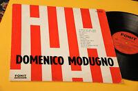 DOMENICO MODUGNO LP SAME 1°ST ORIGINAE 1962 TOP RARE
