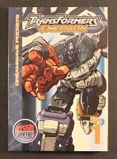 2004 Dreamwave Pockets TRANSFORMERS: ENERGON VOL. 1 TP VG to EXC Out Of Print