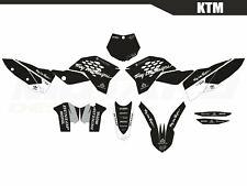 Motard graphics kit for KTM SX SXF 125 250 450 2007 2008 2009 2010 Motocross MX