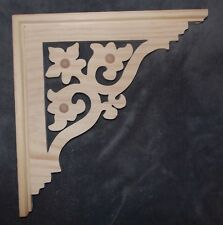 "Victorian Wood Gingerbread {13"" x 13"" }  Porch Trim Corbel Bracket #72 ~ by PLD"