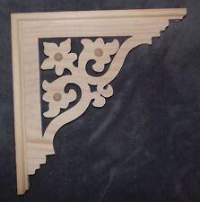 "Victorian Wood Gingerbread {13"" x 13"" }  Porch Trim Corbel Bracket #72 ~ by PLD"