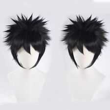 Dabi Wig Anime My Hero Academia Dabi Short Black Styled Cosplay Hair Wigs