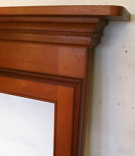 Mahogany Antique Style Fireplace Mantelpieces & Surrounds