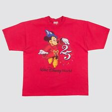 Vintage 90s Mickey Mouse 25th Anniversary T Shirt Disneyland Made in USA XL