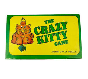 The Crazy Kitty Game 1985 Brain Teaser Puzzle Price Stern Sloan *Complete