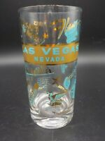 Vtg Las Vegas Drink Glass Closed Casino Hotel Riviera Aladdin Sands The Mint Exc