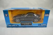 1:43 Scale Mercedes-Benz SLS 6.3 AMG in Black - Top Mark Diecast Model (Age 3+)