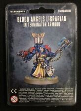 Warhammer 40k Blood Angels Librarian In Terminator Armour NEW SEALED GW 40,000