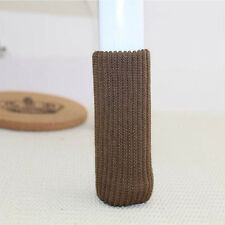 4x Floor Protector Knit Chair Table Leg Foot Sock Sleeve Cover Anti Scratch FT