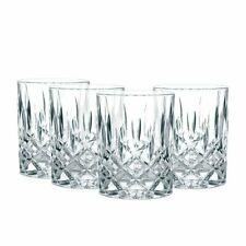NEW Nachtmann Noblesse Whiskey Tumblers 295ml Set of 4 (RRP $70)