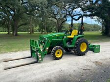 2020 John Deere 3025E Tractor W/ Loader - Forks - Box Blade Package