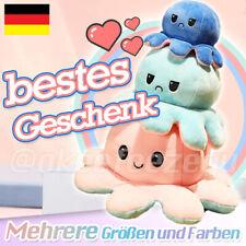 20/30/40cm Octopus Plüschtier TikTok Doppelseitiges Kuscheltier Stimmung Mood ?