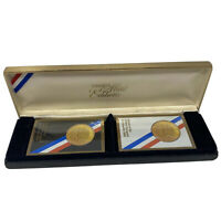 Vintage 1984 Congress Mint Limited Edition Olympic Gold Playing Cards USA NIB