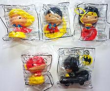 JOLLIBEE JUSTICE LEAGUE TOY FIGURES COMPLETE SET BATMAN SUPERMAN WONDER WOMAN