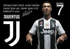 Ronaldojuventus Poster #2 - Motivational quote - A3 - 420mm x 297mm (NEW)